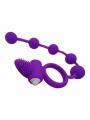 Bolas Estimuladoras con anillo masajeador